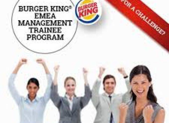BURGER KING generará 25 puestos de trabajo en Águilas