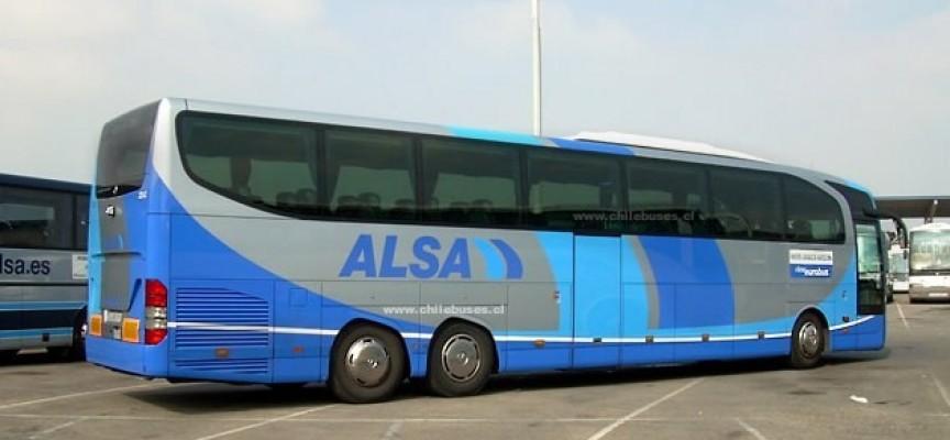 Alsa ofrece empleo a 74 conductores en Madrid, Vizcaya, Valladolid, Burgos y Baleares