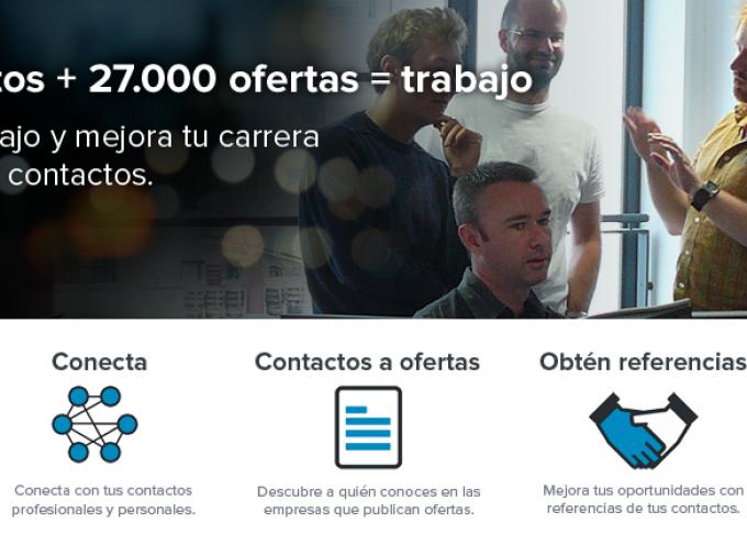 ¿Cómo acceder a ofertas de trabajo a través de contactos de segundo nivel en InfoJobs?