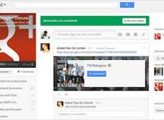 Cómo funcionan las Comunidades de Google+