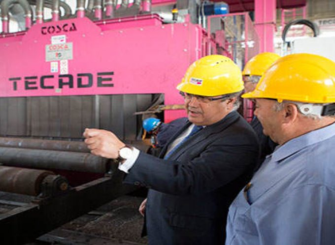 Tecade creará entre 300 y 400 puestos de trabajo en un futuro en el Puerto de Sevilla