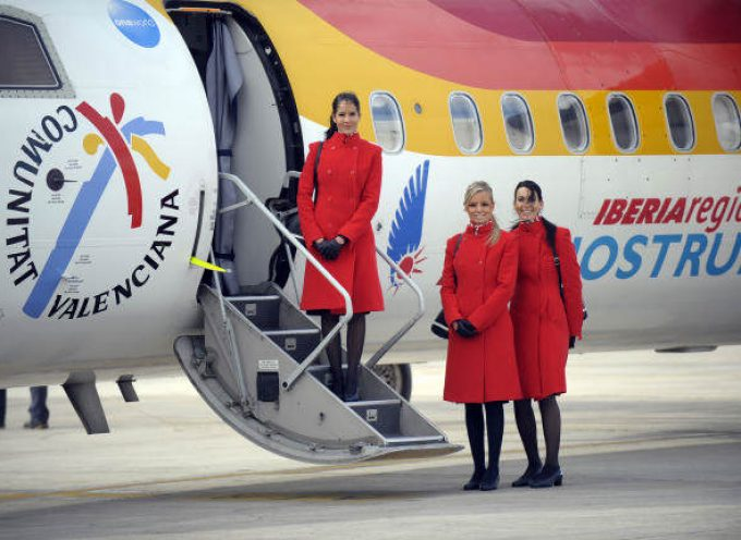 Air Nostrum busca en Madrid tripulantes de cabina. Plazo 31/10/2016
