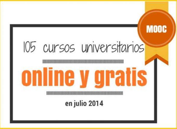 105 cursos universitarios, online y gratuitos que inician en julio