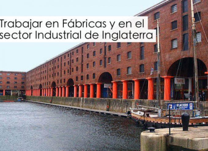 Trabajar en fábricas y el sector industrial en Inglaterra