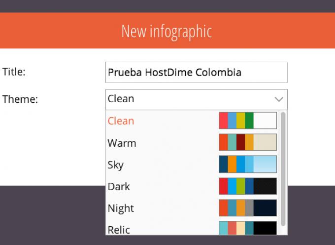 Sprites, herramienta online de creación de infografías