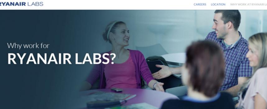 Ryanair Labs, el ambicioso proyecto digital de la aerolínea irlandesa que busca 200 profesionales