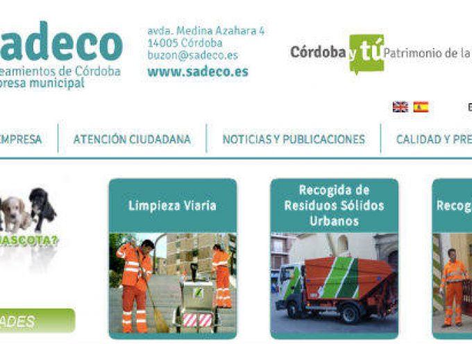 Sadeco oferta 470 empleos para personas en riesgo de exclusión.