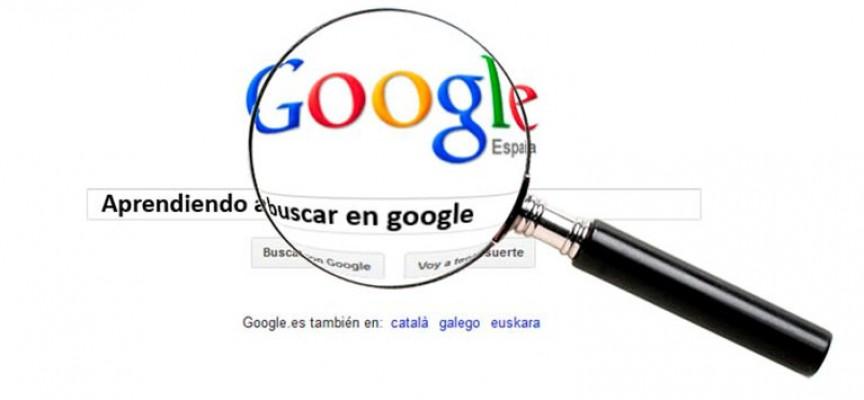 Consejos para una buena búsqueda en Google