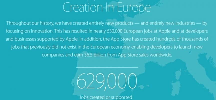 La App Store de Apple Crea 500.000 Puestos de Trabajo en Europa
