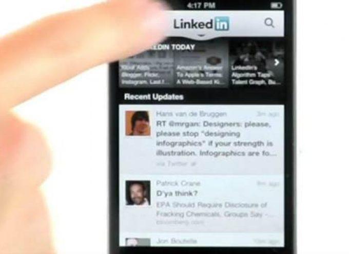 """LinkedIn lanza una versión móvil que ayudará a """"romper el hielo"""" en las reuniones"""