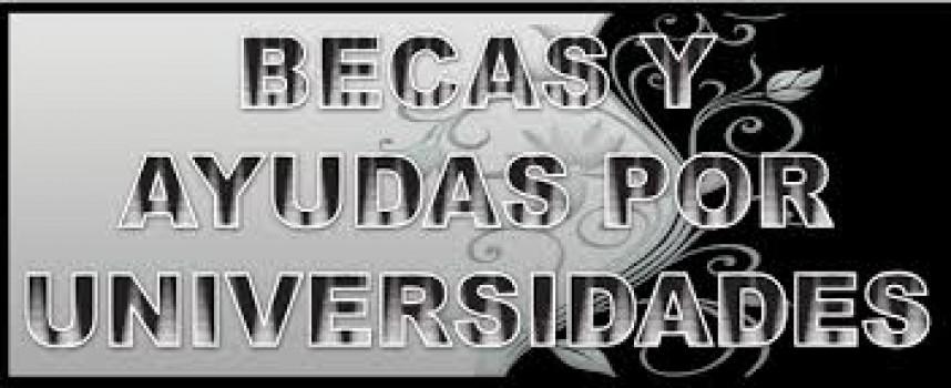 Especial Becas: Directorio completo de Becas de las Universidades españolas.