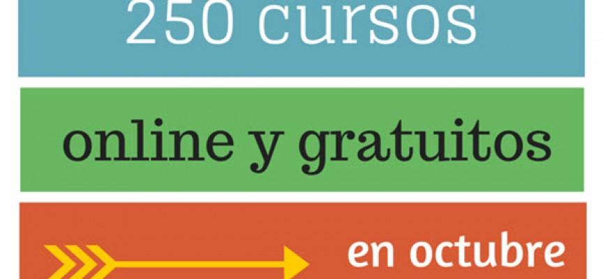 250 cursos universitarios, online y gratuitos que inician en octubre