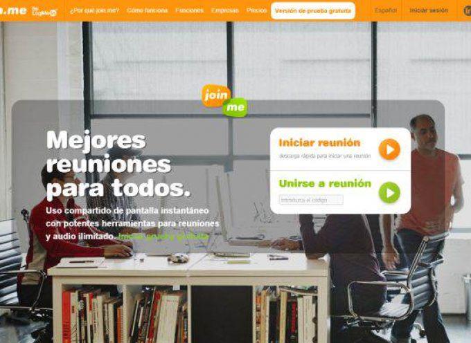 LogMeIn lanza Joinme en español, para reuniones virtuales