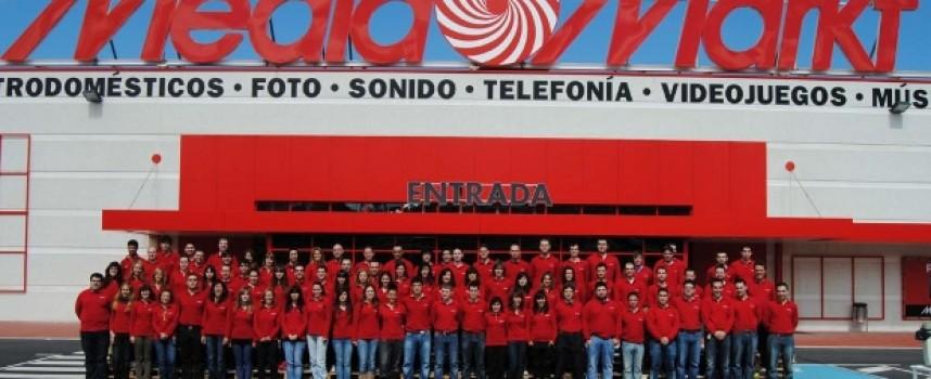 MediaMarkt contratará 75 empleados en Zubiarte. Bilbao y antes del 23 de marzo