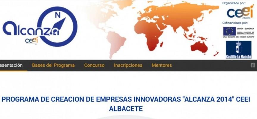 "PROGRAMA DE CREACION DE EMPRESAS INNOVADORAS ""ALCANZA CEEI 2016"" #Albacete. Plazo 30/09/2016"