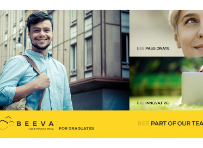Convocatoria abierta para el programa de prácticas en el Grupo BBVA.