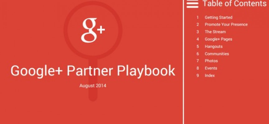 Google+ Partner Playbook, guía oficial de Google+ para negocios (PDF)