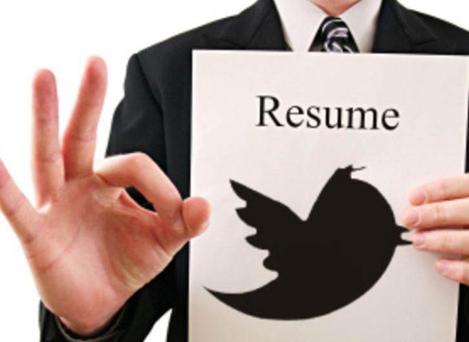 Difunde tu currículum con sólo 140 caracteres: Twesume