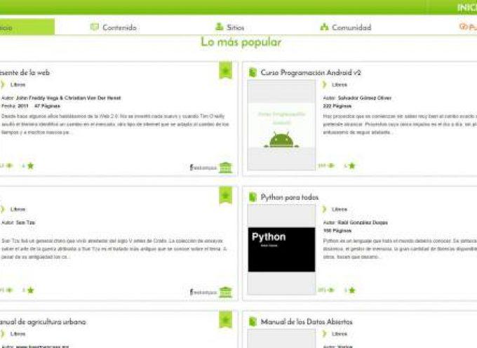 Freekampus – apuntes, libros, cursos, presentaciones, eventos… todo con licencia Creative Commons