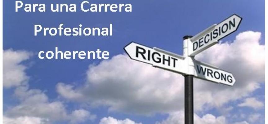 10 Tips para planificar una carrera profesional coherente. IMPRESCINDIBLE