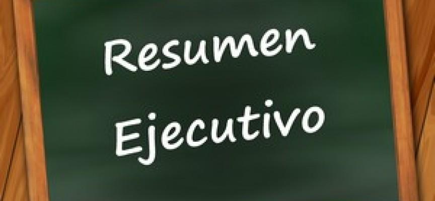 Cómo redactar el resumen ejecutivo del plan de empresa