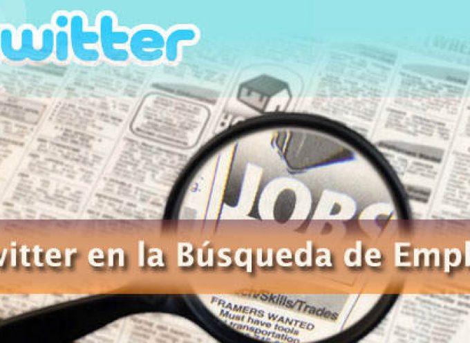 Cómo saber combinar el binomio twitter y empleo.