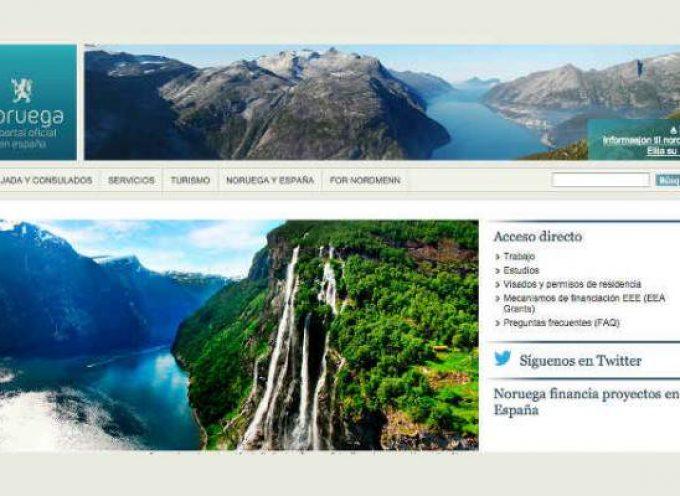 Portal web de la Embajada de Noruega en España
