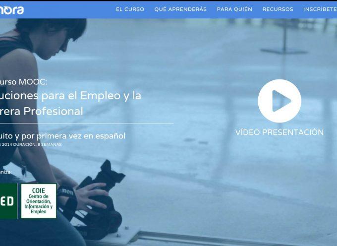 Curso MOOC Soluciones para el Empleo y la Carrera Profesional