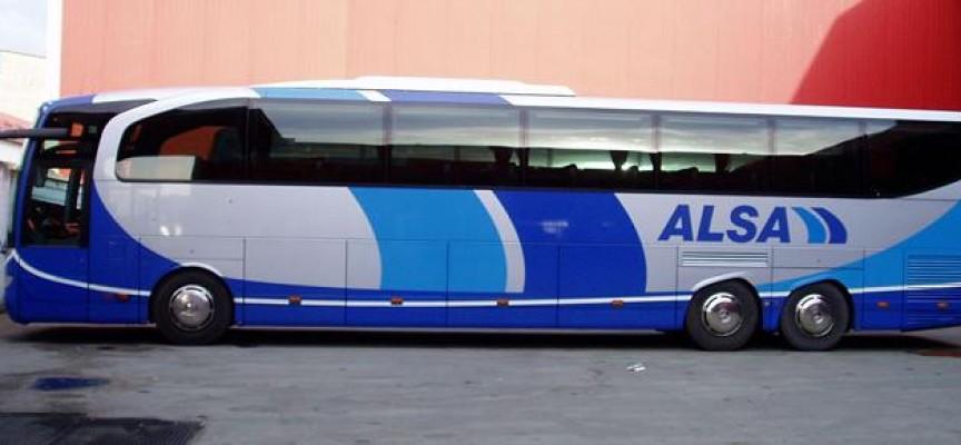 Alsa contratará 75 conductores de autobús para la campaña de verano