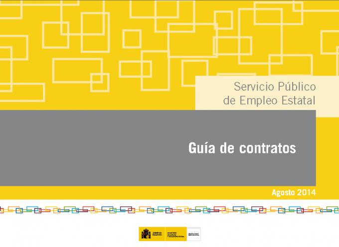 Actualizada la guía de contratos laborales