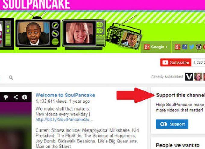 You tube ya tiene su plataforma propia de crowdfunding