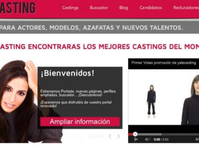 Yatecasting, el portal de casting online, ahora también en smartphones y tablets