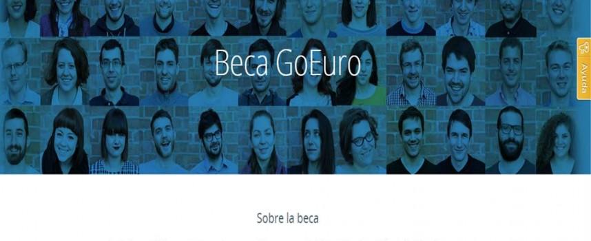 Beca en GoEuro para jóvenes estudiantes innovadores – Hasta el 15/12/2014