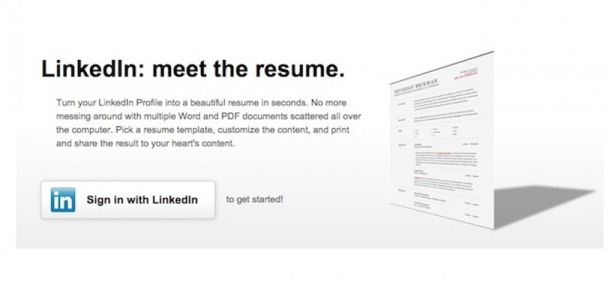 LinkedIn Resume Builder: tu curriculum vitae en dos clics