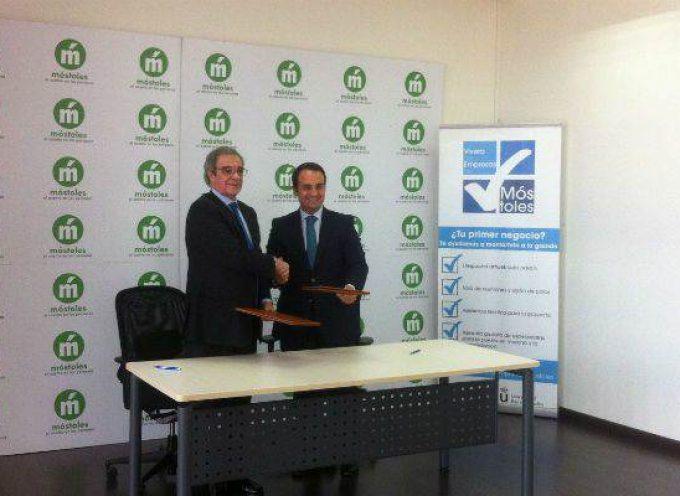 El Ayuntamiento de Móstoles y Telefónica colaborarán para promover proyectos de emprendimiento e innovación