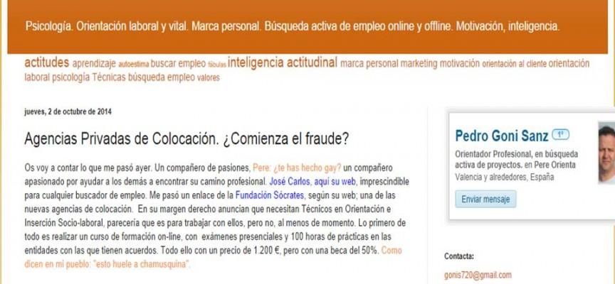 Agencias Privadas de Colocación. ¿Comienza el fraude?