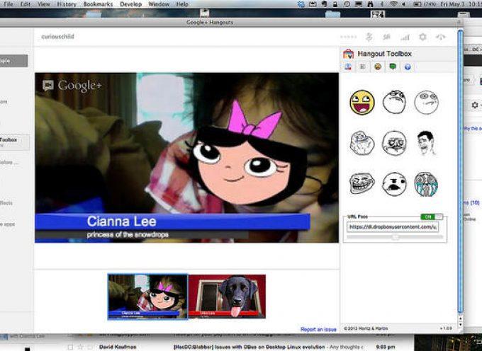 Hangout Toolbox: Cómo incorporar rótulos a Google Hangout