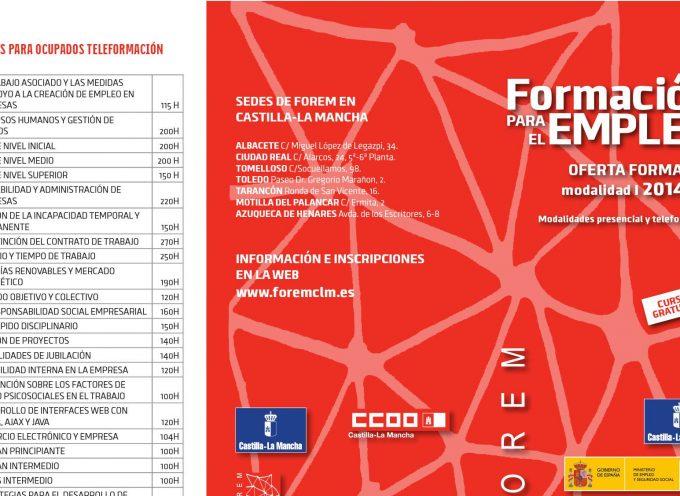 Cursos Gratuitos Castilla La Mancha – Programación FOREM.