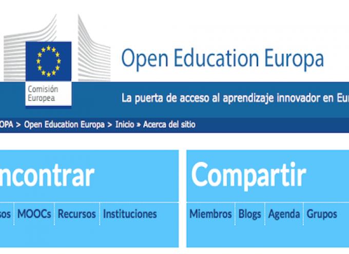 Buscador MOOC, cursos y recursos educativos abiertos
