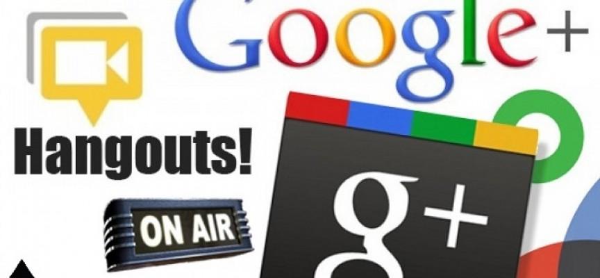Cómo hacer streaming con Hangout Google+