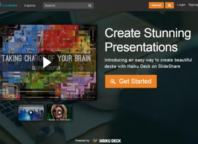 LinkedIn integra Haiku Deck en SlideShare para ayudar a crear presentaciones