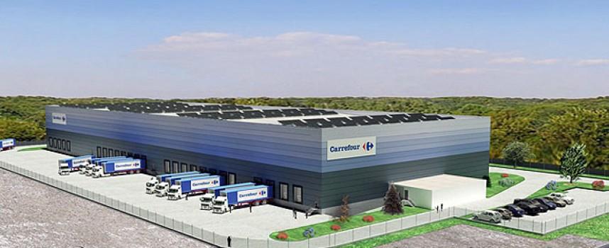 El nuevo centro distribuidor de Carrefour creará 300 empleos