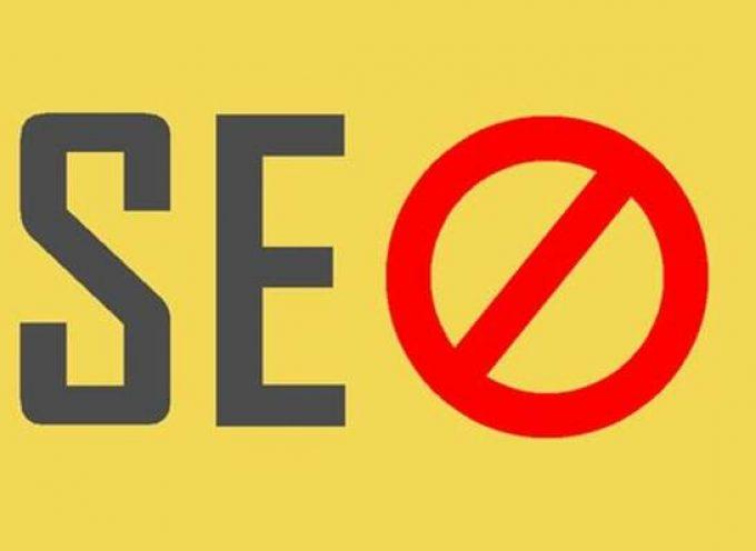 5 errores SEO en tiendas online que no puedes cometer