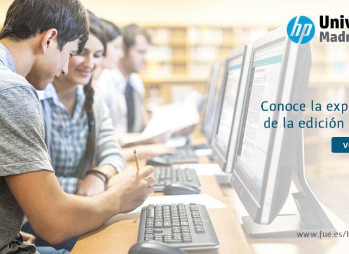 15 plazas para participar en la 12ª Edición de HP University. Hasta el 30 noviembre