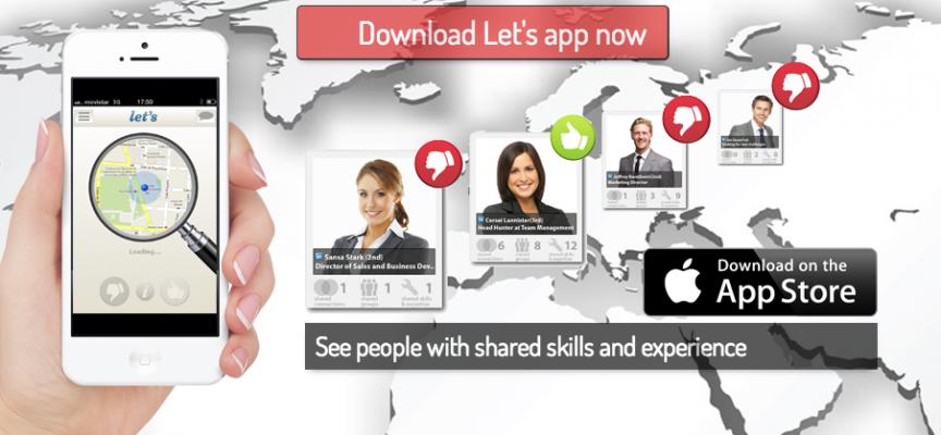 Nace una aplicación móvil para facilitar los contactos profesionales en nuestra búsqueda de empleo