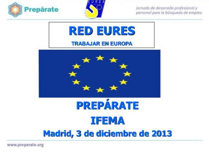 Jornadas de empleo en Linea. Ferias y eventos EURES en España