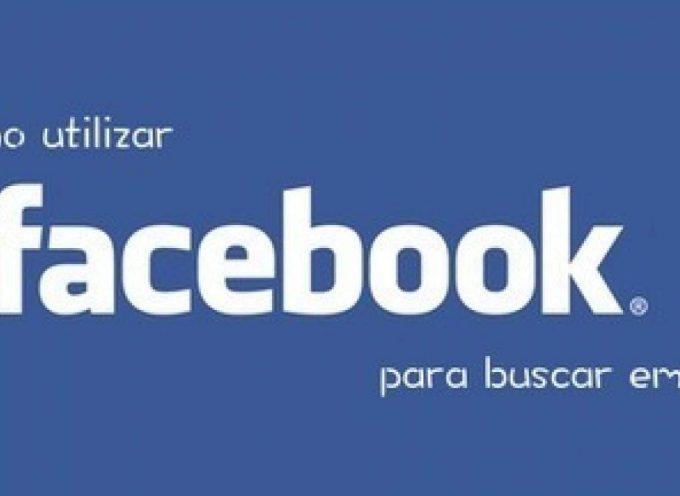 Cómo utilizar facebook para buscar empleo