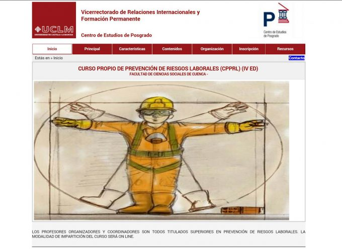 CURSO PROPIO DE PREVENCIÓN DE RIESGOS LABORALES – UCLM CUENCA