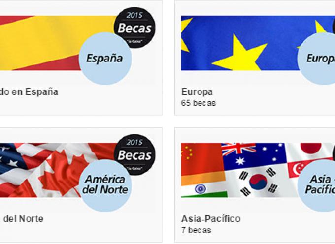 La Obra Social «la Caixa» convoca 145 becas para estudiar en España, Europa, América del Norte y la zona Asia-Pacífico.