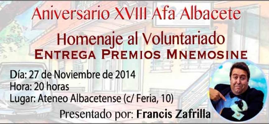 XVIII Aniversario de la Asociación de Alzheimer de Albacete